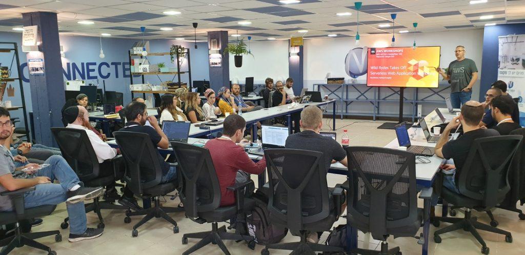 אירוע אמאזון שירותי אינטרנט בדימונה